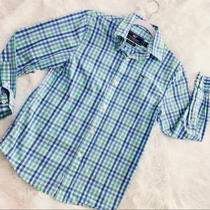 Vineyard Vines Whale Button Down Top